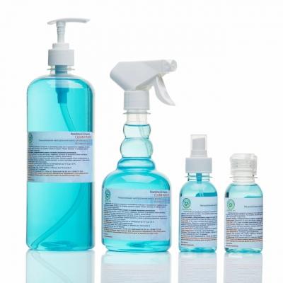 Антисептик спрей  для рук Clean Hands 500 мл (70% спирта)