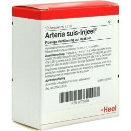 Артерия суис-инъель ампулы 1,1 мл №10/ Arteria-suis Injeel Heel (Германия)