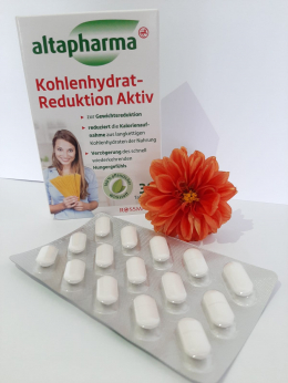 Таблетки для похудения Kohlenhydrat-Reduktion Aktiv - Блокатор углеводов №30 Altapharma/Альтафарма (Германия)
